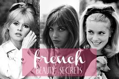 French Beauty Secrets:  dark grapes mask;  wash skin in cold water; tomatoes rich in lycopene as cancer fighter and protect the blood vessels; use borage Seed Oil; makeup restraint; use black mascara for top lashes and brown for bottom lashes; walk 20 minutes daily; Mediterranean diet; Mesotherapy injecting vitamins and amino acids into skin; and French medical pedicures skipping the nail polish.
