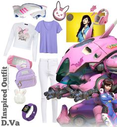 Overwatch D.Va Inspired Outfit