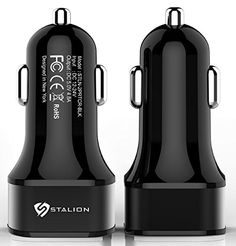 Cool Car Charger: Stalion® 2-Port Dual Multiple USB Vehicle Charger (Jet Black) UNIVERSAL Portable Rapid Travel Charger for All Smartphones Tablets & Cellular Devices Check more at http://techreviewsite.com/index.php/product/car-charger-stalion-2-port-dual-multiple-usb-vehicle-charger-jet-black-universal-portable-rapid-travel-charger-for-all-smartphones-tablets-cellular-devices/