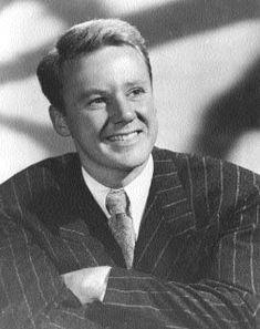 Van Johnson - Major movie star at MGM (Metro-Goldwyn-Mayer) during and after World War II.