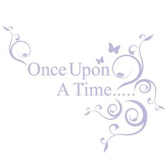 once upon a time wall decal - Google Search