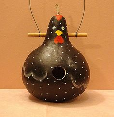 Image result for painted chicken gourds