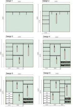 Bedroom Closet Doors, Bedroom Wardrobe, Wardrobe Closet, Small Wardrobe, Diy Bedroom, Closet Renovation, Closet Remodel, Ideas Armario, Master Closet Design