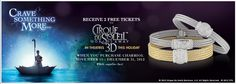 Receive  2 free ticket to Cirque Du Soleil when you purchase Charriol. Valid untill December 31st. while it supplies last.