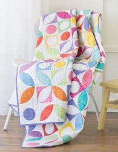 Gumdrops quit by Nancy Mahoney featured in the Jan/Feb 2014 issue of Fons & Porter's Love of Quilting magazine, beautiful and fresh modern quilt