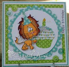 Happy Birthday Card for a little boy!