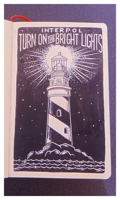 Turn On The Bright Lights by this guy: https://www.behance.net/gallery/19123143/Sketchbook-2014-Part-II