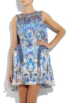 McQueen Jelly fish print dress