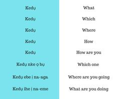 Ask questions in Igbo.' has a lot of meanings, the most common being 'how are you? Nigerian Culture, Xhosa, Concrete Crafts, Learn Korean, My Passion, Mood Boards, Languages, Meant To Be, African