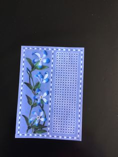 Crafted by Miss Jilly from a Parchment Craft Magazine pattern.
