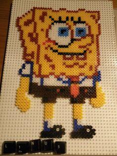 Spongebob Beadpants hama beads by LinusGale on deviantart