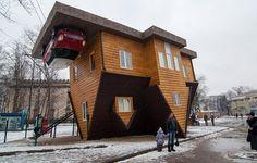 Une maison renversante installée à Moscou