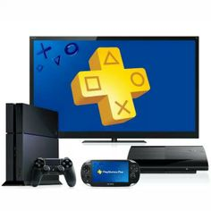 Playstation Plus available on PS3, Vita and PS4.