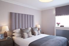 Greville House - Bedroom by Mdesign London Decor, Furniture, House, Home Bedroom, Mdesign, Home Decor, Curtains, Bed, Bedroom