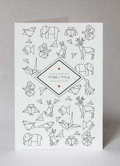 Le Papier Tigre - carte origami