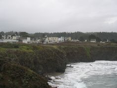 Mendocino town from the headlands!  A beautiful place!