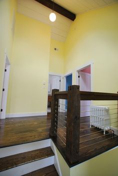 #Farmhouse 20 Interior Shot: #Landing; Sullivan County Real Estate -- Catskill Farms Journal: Farm 20 - SOLD
