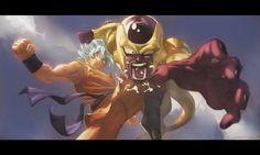 #Goku vs Golden Frieza