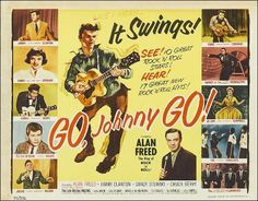 GO, Johnny GO 1959  GO Johnny GO showcases a group of rock and roll performances, that are surrounded by a plot to hold things together. The best part of Go, Johnny, Go! is that Chuck Berry not only gets to perform but also gets to act.
