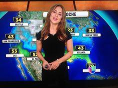 Jackie Guerrido Univision Weather Girl | Jackie Guerrido. Primer Impacto. Univision' s Weather Girl