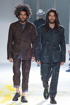 Yohji Yamamoto Spring 2015 Menswear Fashion Show