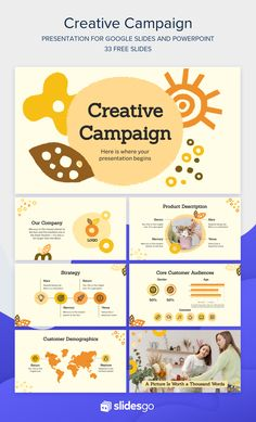 If creativity is what matters, then download and edit this free template for Google Slides and PowerPoint presentations! Best Ppt Templates, Free Powerpoint Templates Download, Powerpoint Presentations, Powerpoint Themes, Powerpoint Template Free, Powerpoint Presentation Templates, Interactive Presentation, Presentation Layout, Theme Template