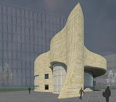 Organic architecture at it's finest! Douglas Cardinal: new student centre building at the U of S!