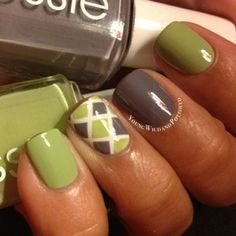 Nicole Young Wild and Polished @youngwildandpolished Diamond Nails usi...Instagram photo | Websta (Webstagram)