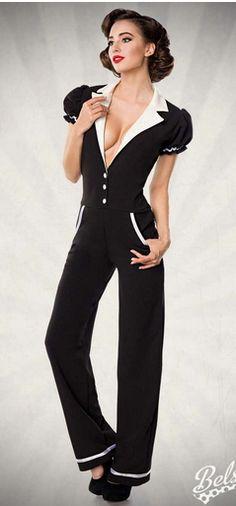 Retro Overall von agfashion.de Schneider, Retro, Overalls, Jumpsuit, Dresses, Fashion, Fashion Styles, Women's, Vestidos