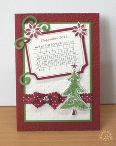 stampin up, cards christmas