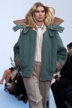 Love that quilted jacket. Chloe Fall/Winter 2012