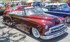 rollinmetalart:Take a51 Chevy convertible add a few mods and...