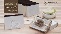 Paso a paso para hacer jabón casero con aceite de coco en nuestra casa y con todas las propiedades del aceite de coco para nuestra piel