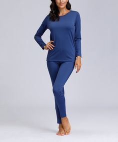 With its easy-to-pair solid hue and stretch-enhanced fabric, this pajama set makes catching Zz's in style a comfortable breeze. Size note: This item runs small. Ordering one size up is recommended. Flame Resistant