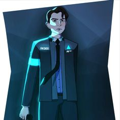 Detroit become human | DBH | Connor | RK800