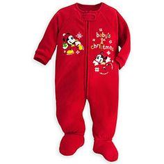 Mickey and Minnie Mouse ''Baby's 1st Christmas'' Blanket Sleeper 3-6 MOS., http://www.amazon.com/dp/B01ATNY7HO/ref=cm_sw_r_pi_n_awdm_6G-NxbM3KD89M