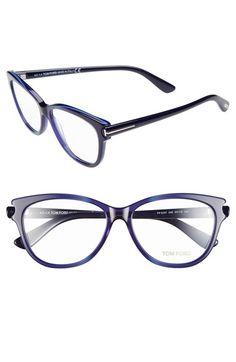 c01345d557 Tom Ford 55mm Optical Glasses (Online Only) available at  Nordstrom Subtle  Cat Eye
