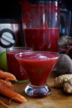Smoothie antioxidante, receta de cocina sana con la nueva batidora Philips Avance
