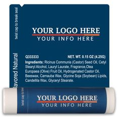 TLB2270 - Business Lip Balm Template 2270 #business #advertising