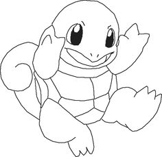 Pokemon Coloring Pages Squirtle Pokemon coloring