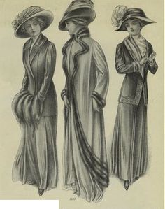 The Gibson Girl's Guide to Glamor: Natural Beauty, Victorian Beauty and Edwardian Fashion: As Cold Weather Sets In...