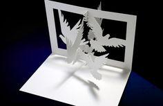 Papercutting Template A4 Fantasy Mermaid Diy By Ninefingerjo Homeschool Pinterest A
