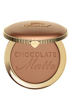 Find Too Faced Chocolate Soleil Bronzer online. Shop the latest collection of Too Faced Chocolate Soleil Bronzer from the popular stores - all in one Milani Baked Bronzer, Drugstore Bronzer, Butter Bronzer, Highlighter And Bronzer, Bronzer Makeup, Face Makeup, Drugstore Beauty, Beauty Makeup, Too Faced Bronzer