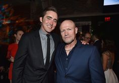 Actors Lee Pace and Michael Rooker attend the after party for The ...
