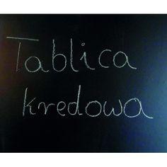 Tablica kredowa http://www.art4wall.com.pl/k4,tablice.html