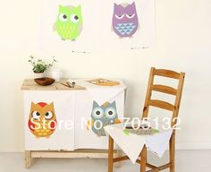 Colorful owl cotton linen upholstery fabric sewing textile for patchwork 106x140cm 8 prints quilt fabric for cushion curtain-inFabric from Industry  Business on Aliexpress.com $25.00