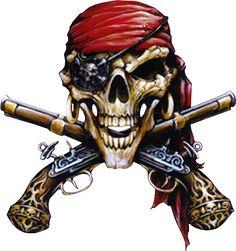 Pirate Art, Pirate Skull, Pirate Life, Pirate Signs, Skull Tattoos, Body Art Tattoos, Jake Sparrow, Pirate Ship Tattoos, Crane