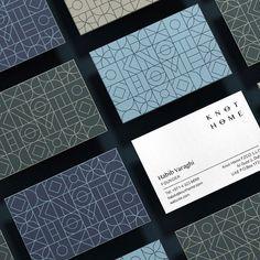 "Inhouse Design on Instagram: ""Knot Home identity & exquisite pattern design & branding by @tankdesign @danielbrox & Oda Wahl award 🥇 ❤️❤️❤️❤️ #design #graphicdesign…"""
