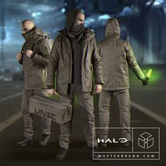 from the Collection Halo Cosplay, Halo Collection, Canada Goose Jackets, Videogames, Pop Culture, Gaming, Winter Jackets, Military, Anime