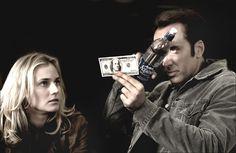 Nicolas Cage and Diane Kruger in National Treasure #movie #celebrity #actors